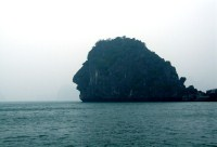 The Dau Nguoi Islet (The Human Head Islet)